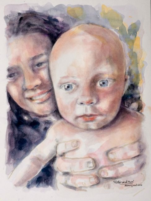 Alistair and Mum
