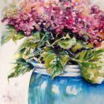 Frances Brought Hydrangeas
