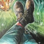 Tom's Painting Boots